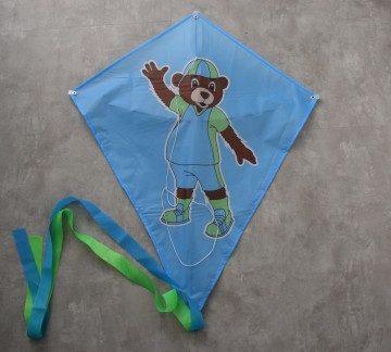 Scheldo the bear kite